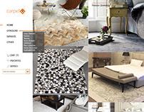 UI / UX design website