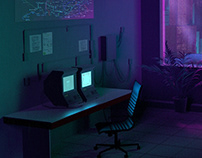 Cyberpunk Office