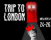 Affiche Animée Trip to London