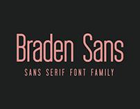 Braden Sans Font Family