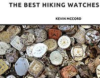 Kevin McCord, NYC, on the Best Hiking Watches of 2018