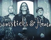 Broomsticks & Hammers - summer concert series promo