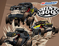 Mint 400 #BeastedUp Illustration