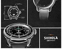 Shinola Flight Ready Watch