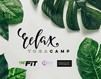 Yoga Camp Poster Design