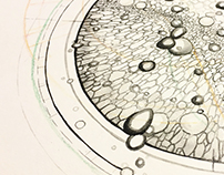 Cellular Growth in Ink