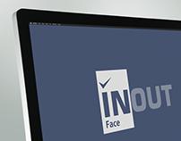 INOUT FACE - Interface web