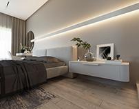 """Privet house interior design """"V-house"""""""