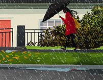 Semana de lluvia