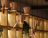 Designer lighting Copper Cezve