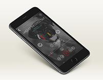 UI Design (Music Player)