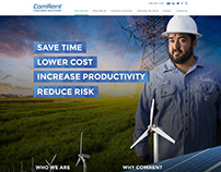 Custom Website Design for ComRent