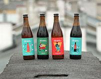 browar zakładowy | beer labels | 2016