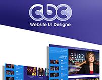 CBC Chanel / Website UI Design 2014