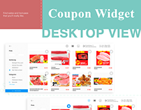 Coupons Widget