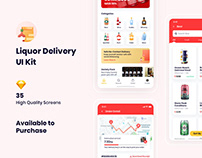 Liquor Delivery UI Kit
