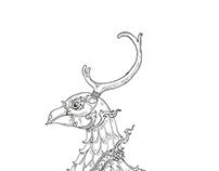 Thai mythical creature