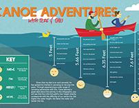 Canoe Adventures Personal Infographic