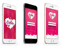 Slivki App interface design