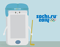 Norton Antivirus Sochi '14 Ilustrations
