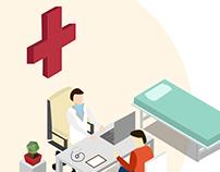 Medical Illustrations for Zen3 Info Solutions