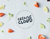 Creamie Cloud Gelato Identity & Branding