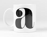Monogram series mugs