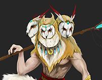 Owl god