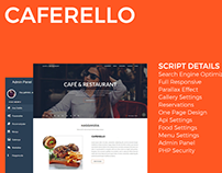 Caferello Restaurant Management System
