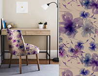 Pattern. Fashion design. Wallpaper.