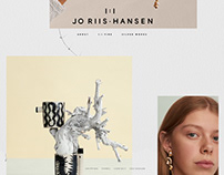 Jo Riis-Hansen Logo and Website Design
