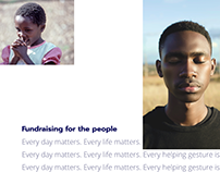 Fundraising for the people. Charity