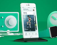 Go2balance iOS app
