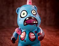 GLITCH (Hungry Bear) – Bub 4″ Custom