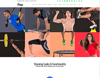 Activities 4 Columns - Fitness WordPress Theme