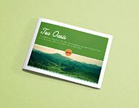 Glendale - Tea Oasis [ Menu Card ]