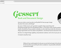 Gessert Book and Document Design