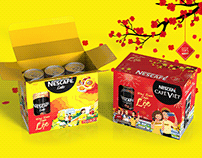 NEscafé Tet gift set - Tet packaging