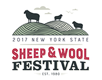 Sheep and Wool Festival Poster