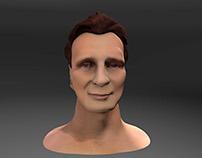 Celebrity Sculpt- Liam Neeson
