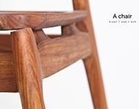 'A' chair