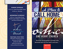 One Heart Church Brochure