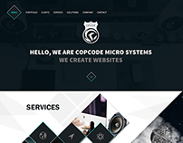 A Creative Web Landing Page For a Software Company