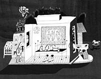 Illustrations for Batenka: Heroin west