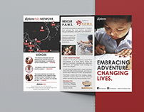 Brochures design XploreAsia network