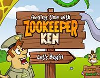 Feeding Time with Zookeeper Ken, Kids iOS App