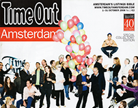 Time Out Amsterdam | Articles for Inaugural Edition