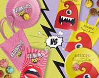 "Beijinhos Pop ""Heart"" vs Monstro dos Beijinhos"