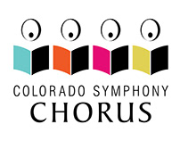 Colorado Symphony Chorus: Logo and print design