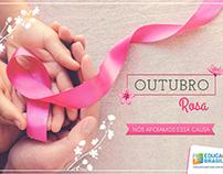 Peça institucional - Outubro Rosa E+B